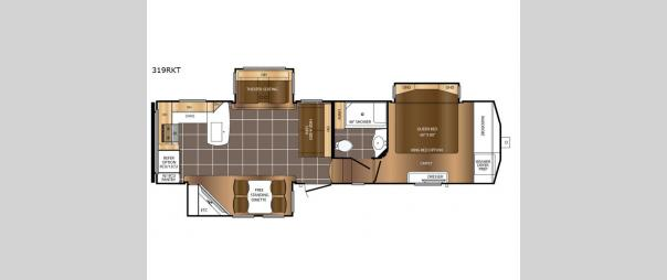 Crusader 319RKT Floorplan