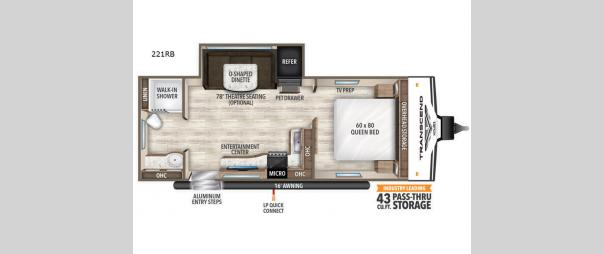 Transcend Xplor 221RB Floorplan