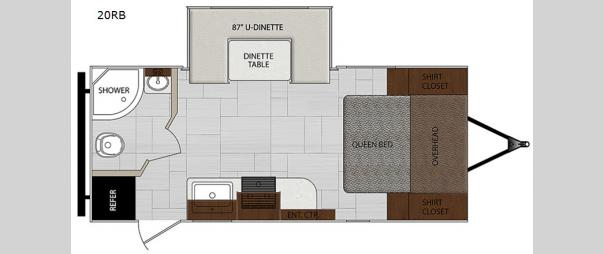 Impression 20RB Floorplan