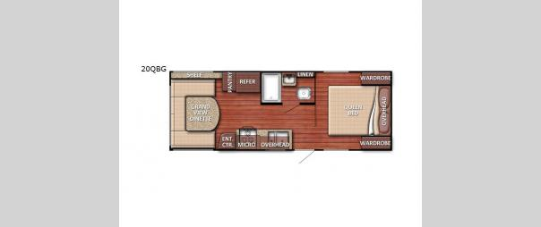 Kingsport SE 20QBG Floorplan