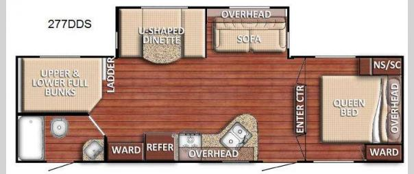 Kingsport 277DDS Floorplan