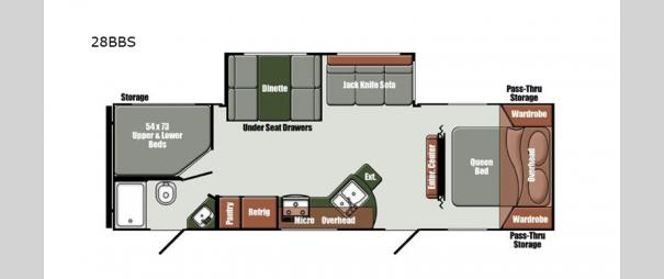 Kingsport Ranch 28BBS Floorplan