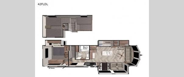 Wildwood Grand Lodge 42FLDL Floorplan