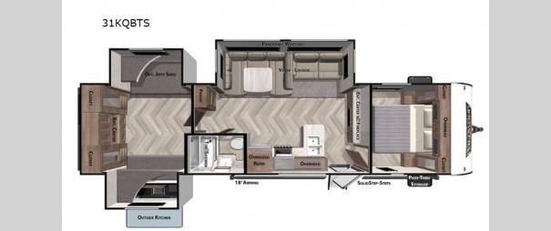 Wildwood 31KQBTS Floorplan