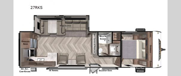 Wildwood 27RK Floorplan