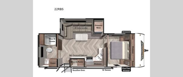 Wildwood 22RBS Floorplan