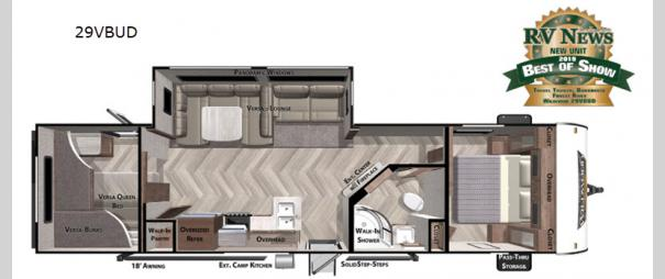 Wildwood 29VBUD Floorplan