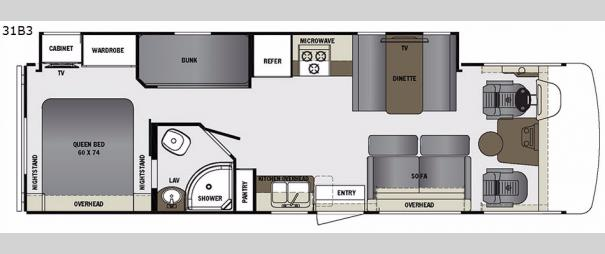 Georgetown 3 Series 31B3 Floorplan