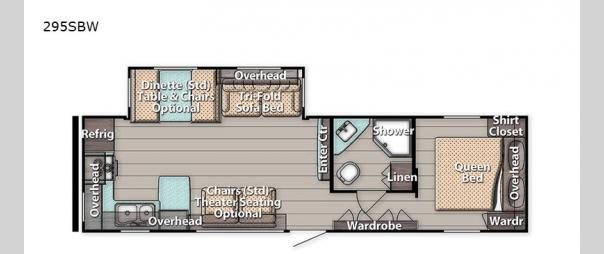 Kingsport 295SBW Floorplan