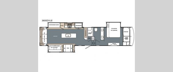 Cardinal Limited 3600DVLE Floorplan