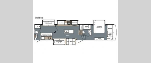 Cardinal Limited 383BHLE Floorplan