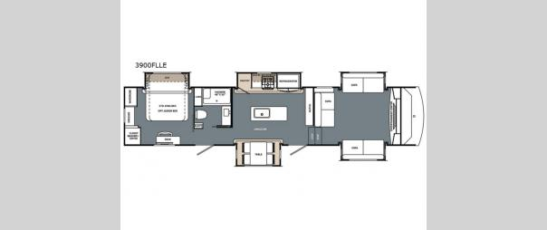 Cardinal Limited 3900FLLE Floorplan