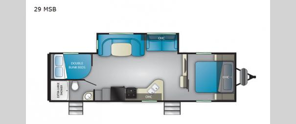 Trail Runner 29 MSB Floorplan
