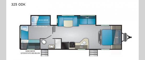 Trail Runner 325 ODK Floorplan