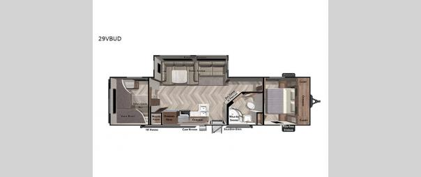 Salem 29VBUD Floorplan