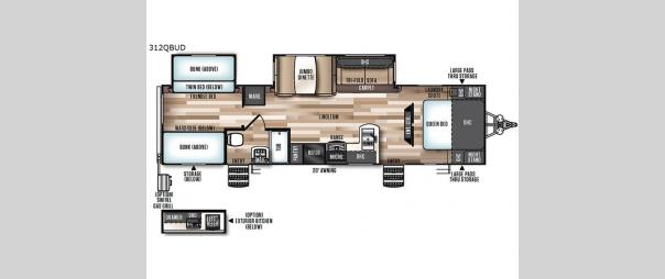 Wildwood Heritage Glen 312QBUD Floorplan