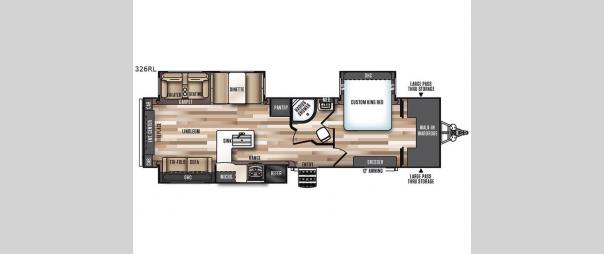 Wildwood Heritage Glen 326RL Floorplan