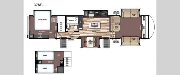 Wildwood Heritage Glen 378FL Floorplan