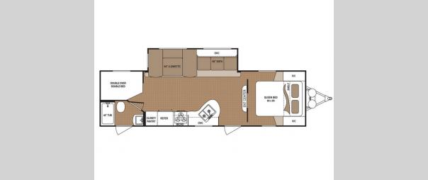 Aspen Trail 2810BHS Floorplan