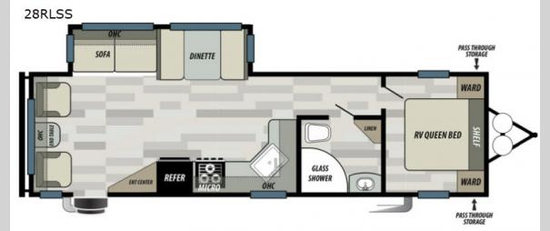 Salem 28RLSS Floorplan