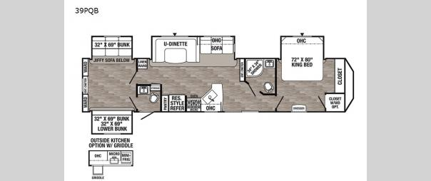 Puma Destination 39PQB Floorplan
