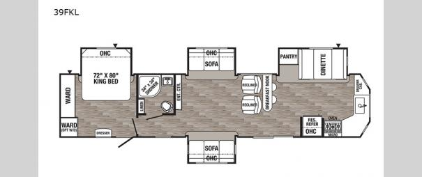 Puma Destination 39FKL Floorplan