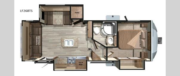 Open Range Light LF268TS Floorplan