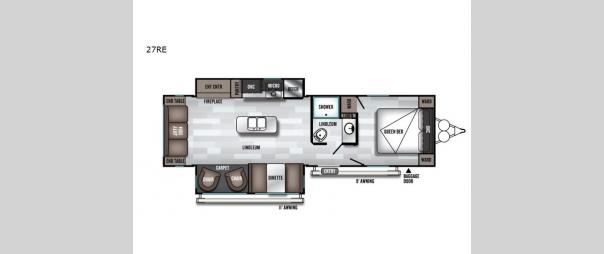 Salem 27RE Floorplan