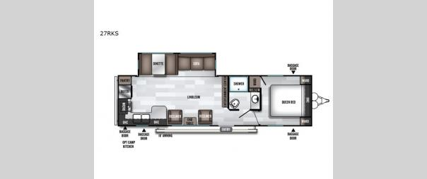 Salem 27RKS Floorplan