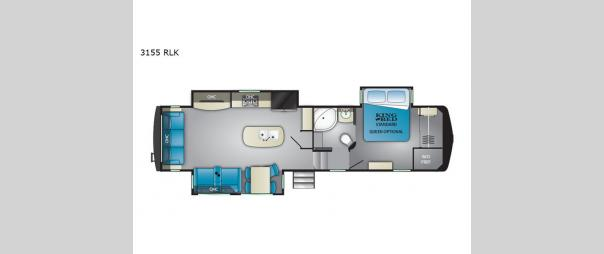 Big Country 3155 RLK Floorplan