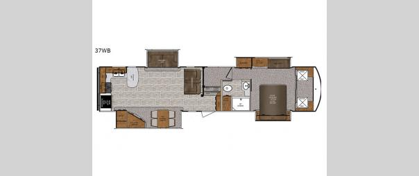 Wildcat 37WB Floorplan