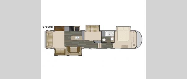 Sundance 3710MB Floorplan