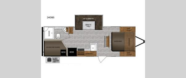 Tracer Breeze 24DBS Floorplan