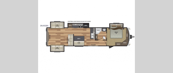 Retreat 391RDEN Floorplan