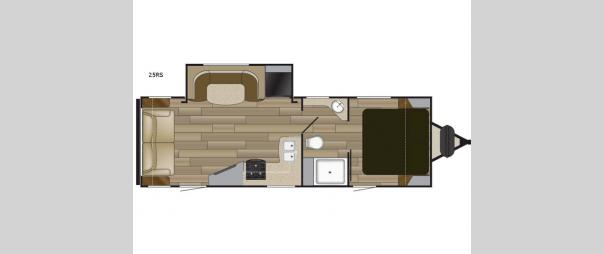 Fun Finder XTREME LITE 25RS Floorplan