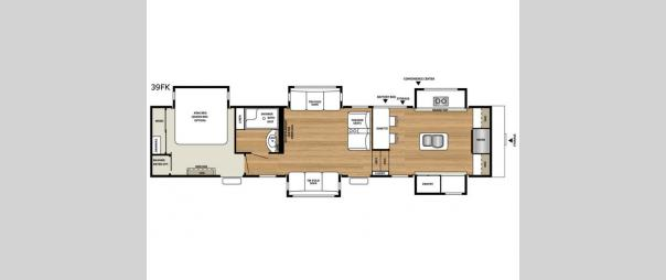 RiverStone 39FK Floorplan
