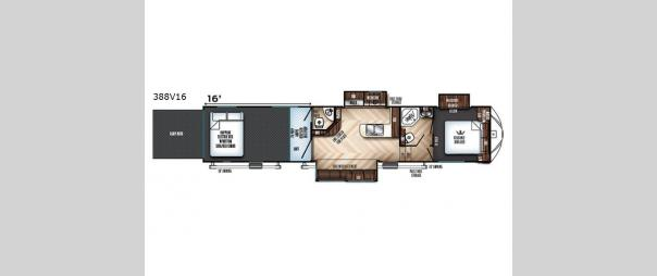 Vengeance 388V16 Floorplan