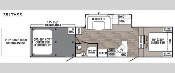 Puma Unleashed 351THSS Floorplan