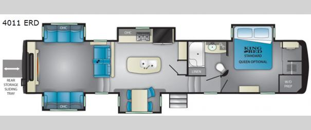 Big Country 4011 ERD Floorplan