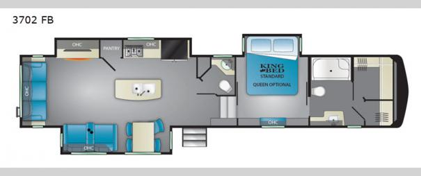 Big Country 3702 FB Floorplan