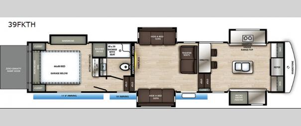 RiverStone 39FKTH Floorplan