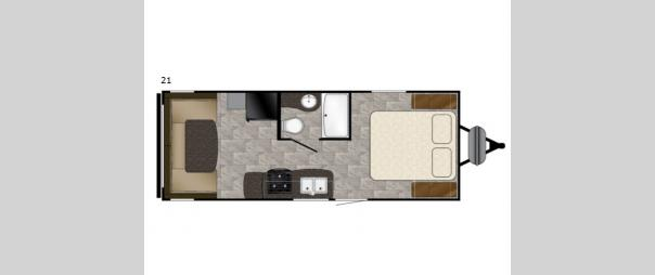 Trail Runner SLE 21 Floorplan