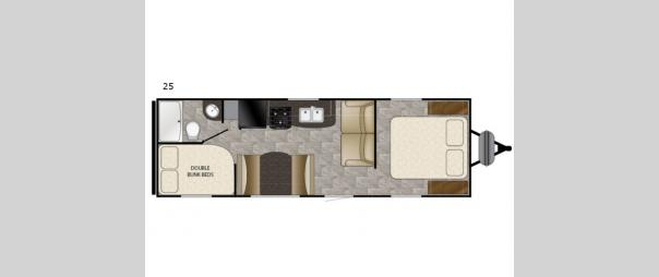 Trail Runner SLE 25 Floorplan