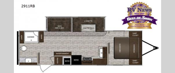 LaCrosse 2911RB Floorplan