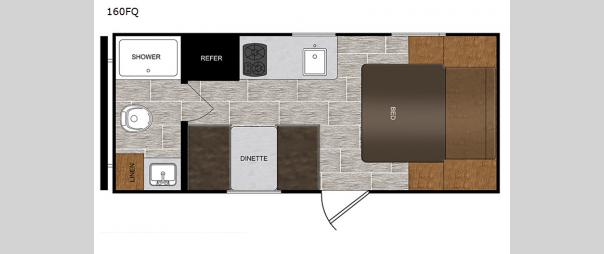 PTX 160FQ Floorplan