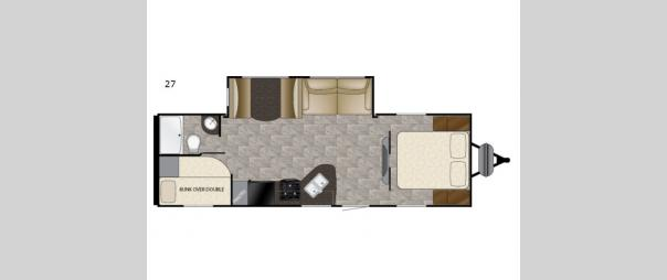 Trail Runner SLE 27SLE Floorplan