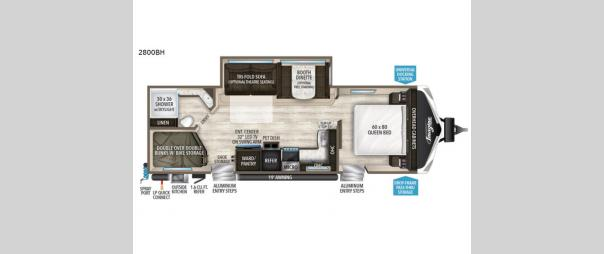 Imagine 2800BH Floorplan