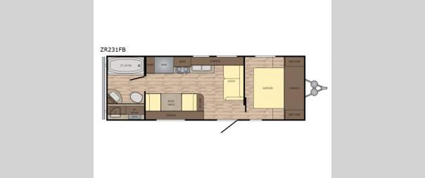 Zinger ZR-231FB Floorplan