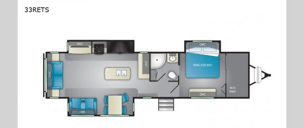 North Trail 33RETS Floorplan