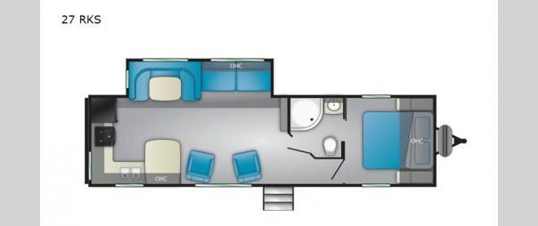 Trail Runner 27 RKS Floorplan